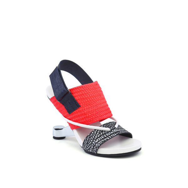 Eamz Tribal Black + Neon Red + Navy