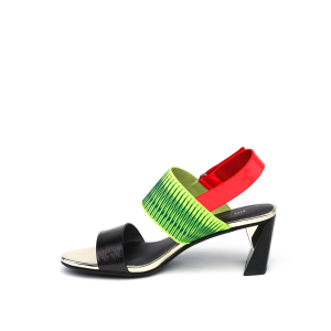 Zink Slingback Mid Disco + Neon Lime + Neon Red