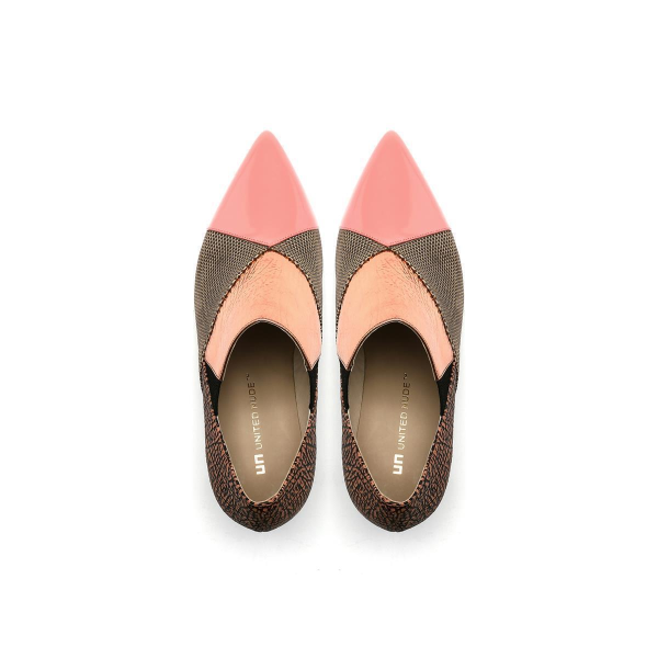 Zink Patch Loafer Mid Blush Mix