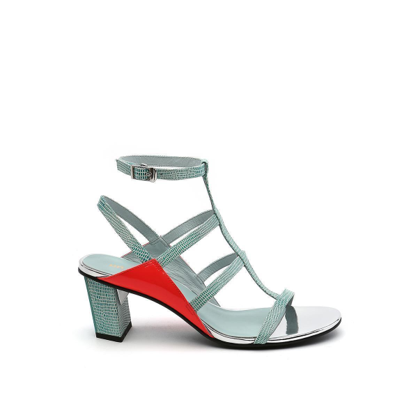 Luxor Sandal Mid Ice Fire