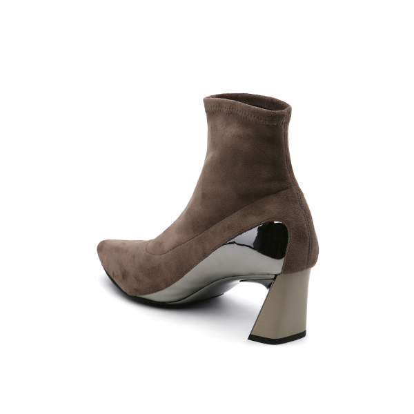Molten Flow Ankle Boot Mid Sand