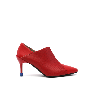 Square Pump Mid Rio Red