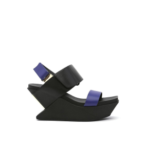 Delta Wedge Sandal Mid night