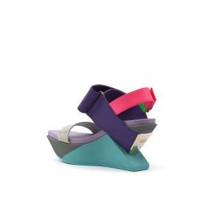 Delta Wedge Sandal Azure