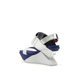 Delta Wedge Sandal Summer Blue