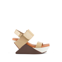 Delta Wedge Sandal Toffee